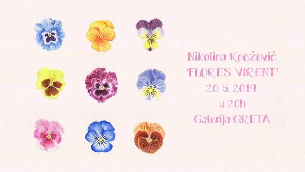 20.5.2019 – Nikolina Knežević Pika – Flores virent / Flowers are blooming