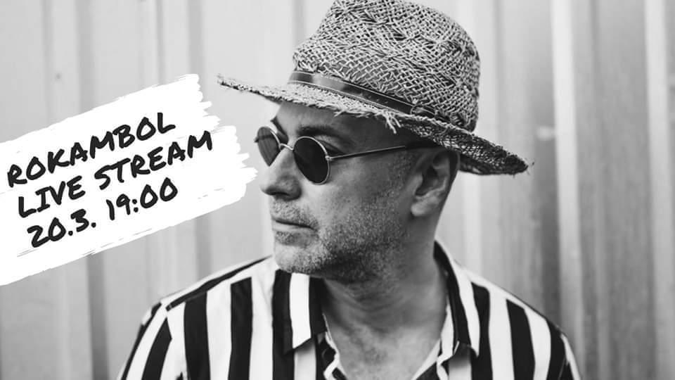 """20.3.2020. – Rokambol: """"Umjetnost dolazi vama"""" (LIVE Stream)"""